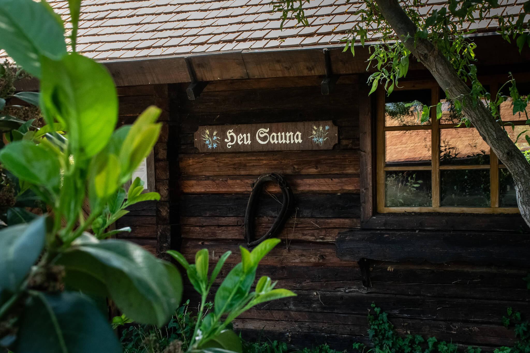 Heu Sauna