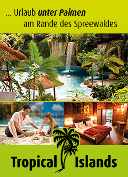 Banner Tropical Islands Spreewald