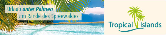 Banner Tropical Islands