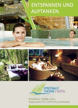 Banner Spreewald Therme