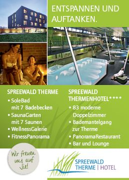 Banner Spreewald-Therme Burg