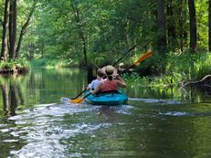 Adventure canoeing in the Spreewald